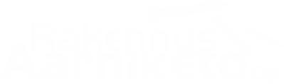 Rakennus Aarniketo Oy Logo valkoinen